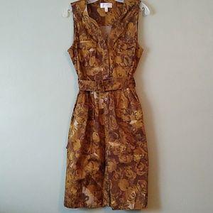 Moulinette Soeurs sleeveless floral midi dress 8